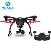 aerial photographers - Ehang GHOSTDRONE Goggle Version Quadcopter With K HD Sports Camera For Photographer Original RC Helicopter drone iOS Black
