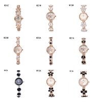 belt with a buckle - Hot sale Quartz Wrist watches the anti fatigue watches pieces a mix color fashion flower heart women watch power reserve watch GTWH2