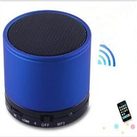 answer button - High Quality S10 bluetooth mini speaker Portable Hands Free speakers Support Call Answer With Mic Aux Input TF Card Slot