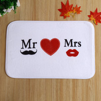 Wholesale latest design bearded lips bedroom home in front of non slip mats