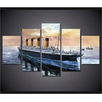 animals titanic - Hot Titanic Paintings Wall Art Home Decoration Living Room Unframed Canvas Oil Painting For Bedroom