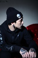 Wholesale The New autumn and Winter Men s Wool Knit Skull Cap Knitted Hat Hedging Cap skullies M120