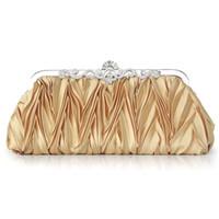 Wholesale 2015 new bride dress bag bag fold Dinner Bag high quality brand handbag hand bag bag