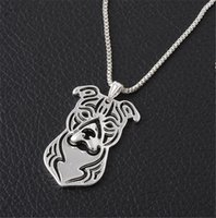 american staffordshire terrier - American Staffordshire Terrier Dog Lover Amstaff Gift Mini Hollow Dog Necklace for Women
