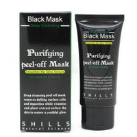 Wholesale 50ML SHILLS Deep Cleansing Purifying Peel Off Black Mud Facail Face Mask Makeup Beauty New Blackhead Removal Facial Mask