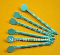 bobby pins with pad - 1000piece mm with mm round pad Blue Bobby pin Hair clips Jewelry Findings Accessories