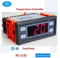 Wholesale RINGDER RC E V V A C Cool Heat ON OFF Relay Switch Universal Digital Temperature Controller Regulator Thermostat