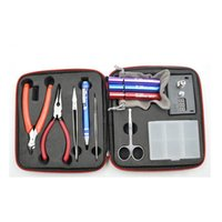accessories professional tools - Coil Master Tool DIY Kit For RDA RBA RTA RDTA Atomizer Professional DIY Tool Bag Coiling Kit Electronic cigarette Ecigs Accessories DHL Free