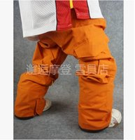 Wholesale The New Men Couples Snowboarding Pants Big Yards Double Plate Ski Pants Waterproof and Windproof Male Trousers Warm Hot