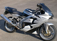 zx6r fairing - 3 Gifts New motorcycle Fairings kits For Kawasaki Ninja ZX R Fairing Kit ZX R Cool black silver