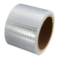 Wholesale 5x300cm Car decoration Motorcycle Reflective Tape Stickers Car Styling For Automobiles Safe Material Safety Warning Tape