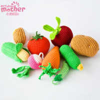 Wholesale Photography studio props simulation fruit and vegetables baby toys infants newborn photography decoration props Learning Education Toys