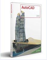 Wholesale AutoCAD full version software English Language bit Plastic color box packaging