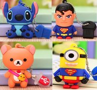 Nouvelles Belle Cartoon USB 2.0 disques Flash Memory 32GB flash