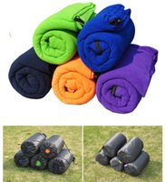 Wholesale new style Mini Ultralight Portable Outdoor Envelope Sleeping Bag Travel Bag Hiking Camping Equipment g Colors
