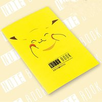 Wholesale 24P Cartoon Poke Pikachu Notebook Notepad Diary Planner For Children Kids Japan Stationery Gifts School Office Supplies Paper Product