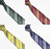 activities weaves - Christmas Activity Harry Potter tie Unisex Fashion tie Hogwarts School tie elegant striped