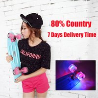 Wholesale 2016 Pastel Colored Original Peny Board quot Pnny mini Cruiser Skateboard board tablas de skate board loaded skateboard complete