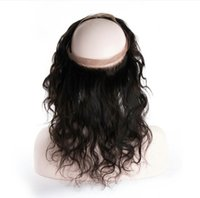 b body parts - Grade A Peruvian Body Wave Lace Frontal Closures x4 Free Middle Part lace Frontal closure Human Hair Natural color B