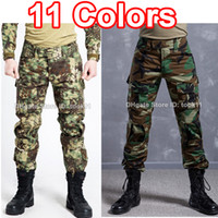 acu camo pants - Army military clothing multicam camo combat tactical pants hunting clothes camouflage fatigues german acu kryptek mandrake paintball pants
