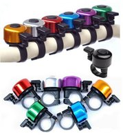 Wholesale New Aluminum alloy Bicycle Bell Bike Bell Sound Resounding High Quality Bike Handlebar Ring Horn Color Optional