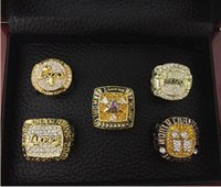 Wholesale Belt Muhe Angeles Lakers Championship Rings sets Bryant