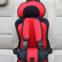 Wholesale red Car Chairs for Children Car styling Comfortable Chair cushion Kids Car Seats Baby safety seat