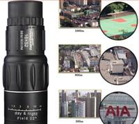 big binoculars - Monocular X52 night vision than infrared telescope single cylinder double adjustable military binoculars with times