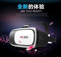 Wholesale 2016 virtual reality D glasses VR BOX vr case nd generation headset VR box google cardboard Shenzhen OEM ODM Manufacturer