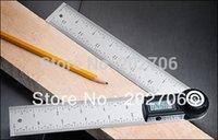 Wholesale 2 in Digital protractor angle finder meter Ruler mm degree