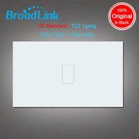 Wholesale Broadlink TC2 AU US Standard gang smart home Automation mobile APP Remote wireless control lamp light Switch by broadlink rmpro