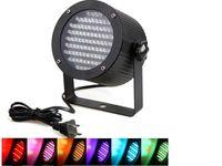 Wholesale Professional LED Stage Light W RGB LED Light DMX Lighting Laser Projector Stage Party Show Disco US Plug AC V