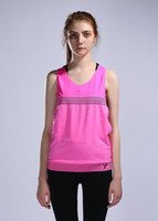 athletic shirts for women - Yoga shirt women colete professional Running breathable athletics fitness sexy sleeveless shirt for ropa de correr para mujeres