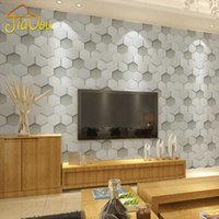 background clothes - Modern Brief D Diamond Leather Living Room TV Indoor Background Wallpaper Bedroom Study Clothing Store Vinyl Wall Covering Roll