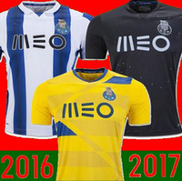 Wholesale 16 porto Home MANS soccer Jerseys Top Thai quality Goalkeeper MAREGA SILVA ABOUBAKAR away Football Shirts camisas de futebol