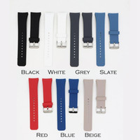 Luxe Strap silicone montre-bracelet bande Strap pour Samsung Galaxy S2 Vitesse SM-R720 R732 Wristband Watchband Accessoire