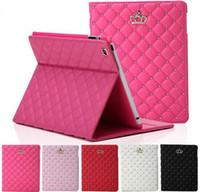 apple ipad discounts - Fashional High Quality Beautiful Cover For Ipad Air Ipad PU tablet Case Cover for Ipad With Stand Discount Case