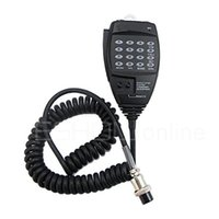 Wholesale 20pcs Handheld Speaker Mic Microphone Headset for Alinco DTMF Pin New EMS walkie talkie J0140A Fshow