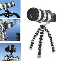 Wholesale 2016 pieces Octopus Flexible Tripod Stand Gorillapod for Camera Digital DV Canon Nikon Mini
