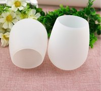 Wholesale unbreakable stemless silicone wine cup new food grade original portable wine cup silicone wine glass Party Decoration