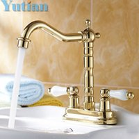 Gold Color Bathroom Faucets My Web Value - Brass colored bathroom faucets