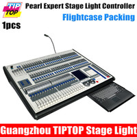 Wholesale TIPTOP Pearl Expert Stage Light Controller Dual Control System Titan Pearl Console Way Independent DMX512 Out Flightcase Pack Led Stage