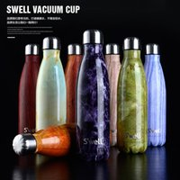 Wholesale NEW S well Bottle Stainless Steel Vacuum Flask Cup Swell Sports Mug oz ml