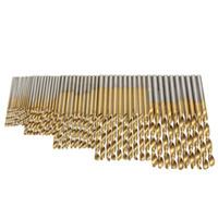 Wholesale New Set Twist Drill Bit Set Saw Set HSS High Steel Titanium Coated Drill Woodworking Wood Tool mm For Metal