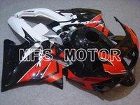 Ajuste para HONDA CBR600 F2 1991 1992 1993 1994 CBR 91-94 Rojo Blanco ABS Molde Nuevo Carenado Kits de carrocería