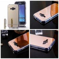 ace hard case - Luxury Mirror For LG G5 Galaxy J1 J1ACE J1 ACE J2 J3 J5 J7 Grand Prime G530 Plating Chrome Metallic Hard PC Soft TPU Silicone Case Cover
