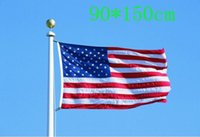 Wholesale 3 x5 USA US American Flag Star Grommet Fit FT Flagpole