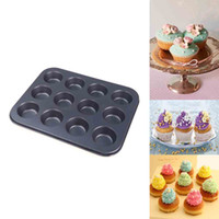 Wholesale Cake Pan Muffin Cupcake Bake Baking Mould Mold Bakeware Cups Dishwasher Safe Versatile Sturdy Tools