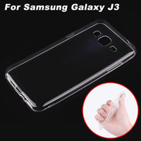 Wholesale Samsung Galaxy J3 Case Cover Transparent TPU Soft Cover Phone Case For Samsung Galaxy J3 Back Cover Case inch