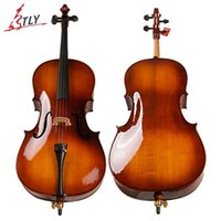 Wholesale TONGLING Professional Cello Hand Made Oil Varnish Antique Cello